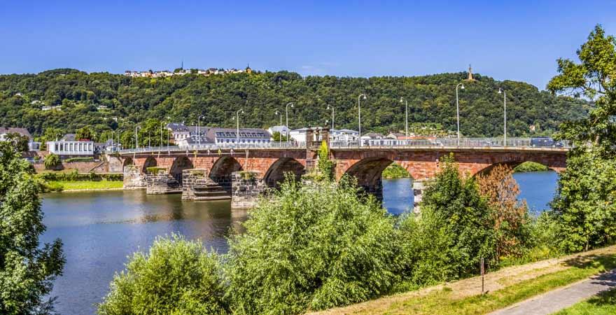 Römische Brücke in Trier
