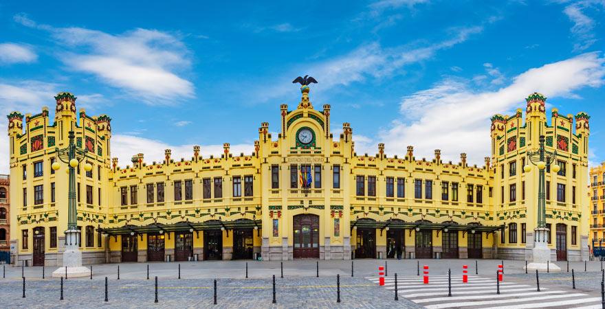 Bahnhof in Valencia