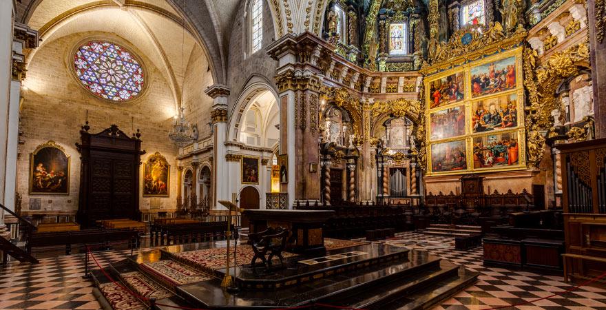 Innenbereich Kathedrale Valencia