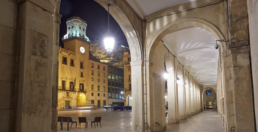 Rathaus in Alicante