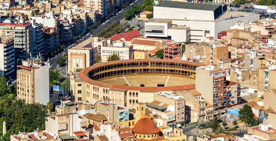 stierkampfarena in Alicante