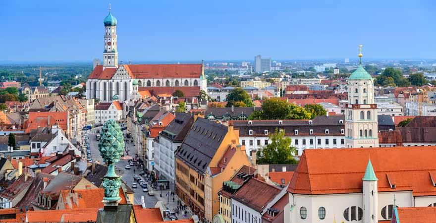 Augsburg in Deutschland