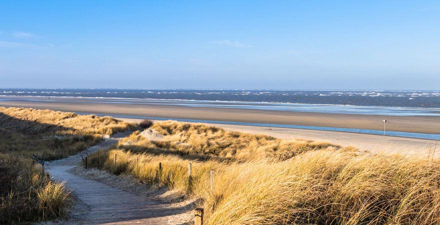 Strand auf Spiekeroog