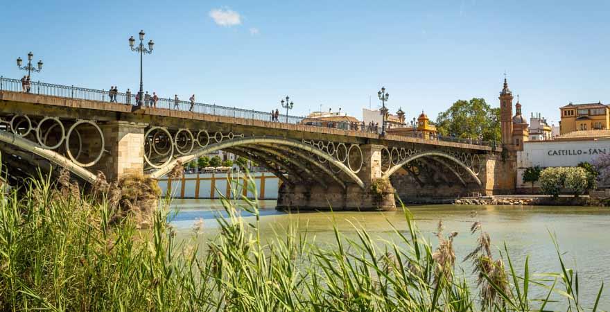 Puente Isabel II in Sevilla