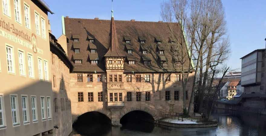 Blick Museumsbrücke