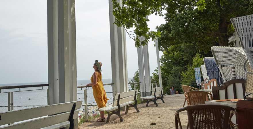 Blick vom Streckelsberg auf Usedom