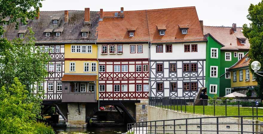 Erfurt in Deutschland