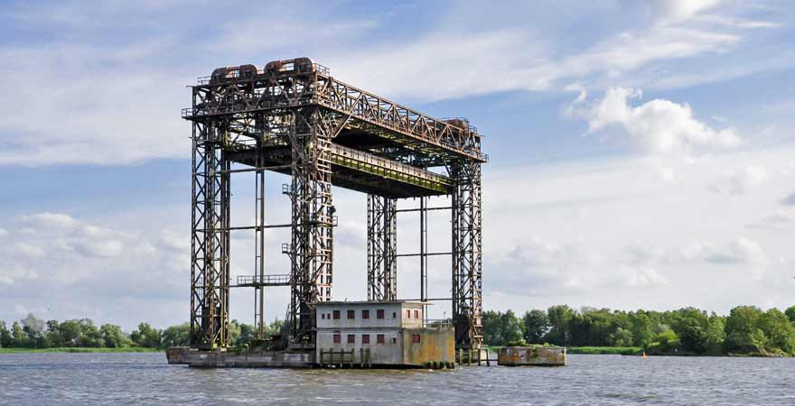 Karniner Brücke auf Usedom