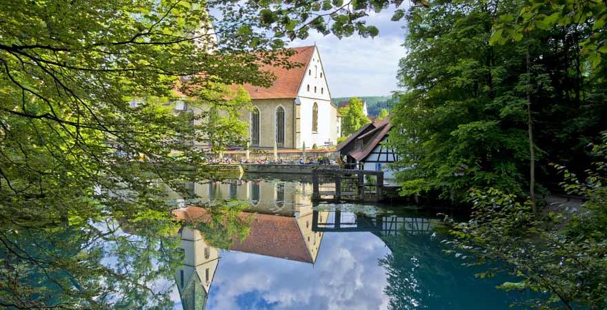 Klostergarten in Blaubeuren