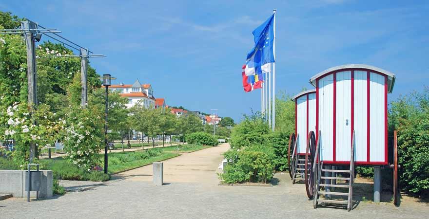 Strandpromenade auf Usedom