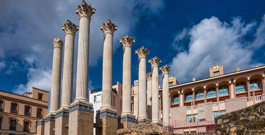 Templo Romano in Cordoba