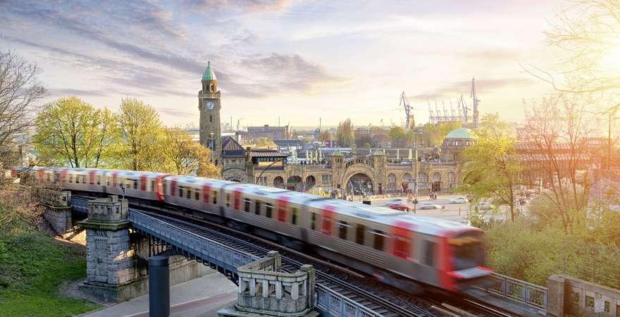 Öffentliche Verkehrsmittel Hamburg