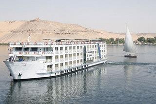 8-13-Nächte Nilkombi Nile Crown II Deluxe Highlights & Hotel Palm Beach ****