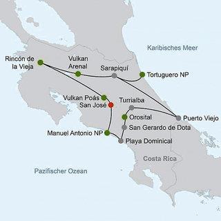 Abenteuer zwischen Vulkan & Regenwald