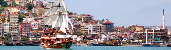Türkei Urlaub in Alanya