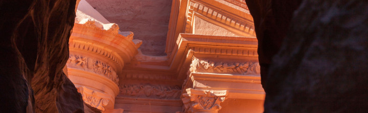 Urlaub Jordanien Felsenstadt Petra