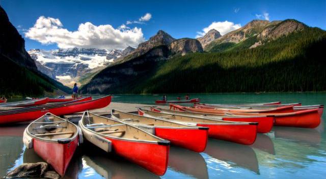 Die beste Reisezeit für Kanada erfahren Sie hier bei 5vorflug.de!