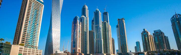 Ab Ihrer Stadt ab nach Dubai