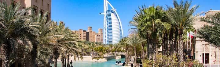 Spontan in die Vereinigten Arabischen Emirate