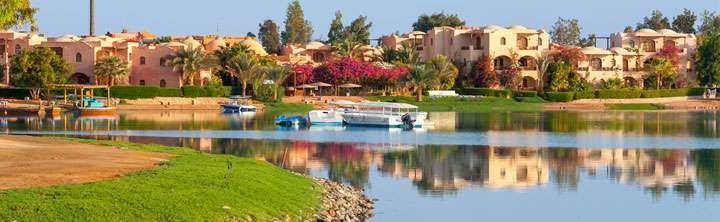 El Gouna Hotels und Resorts am Roten Meer