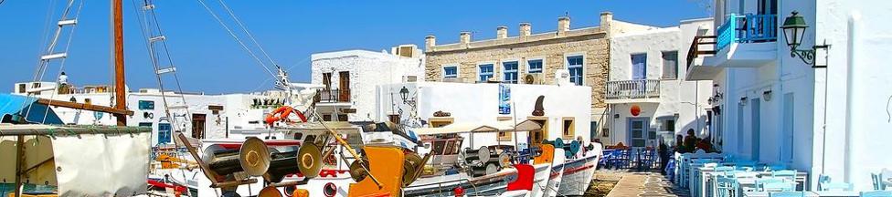 Urlaub auf Paros