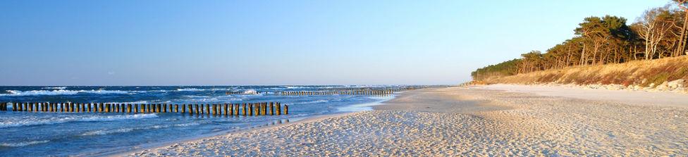 Strandhotel an der Ostsee