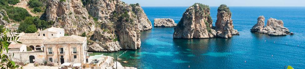 Strandhotel auf Sizilien