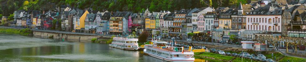 Koblenz Blick vom Rhein
