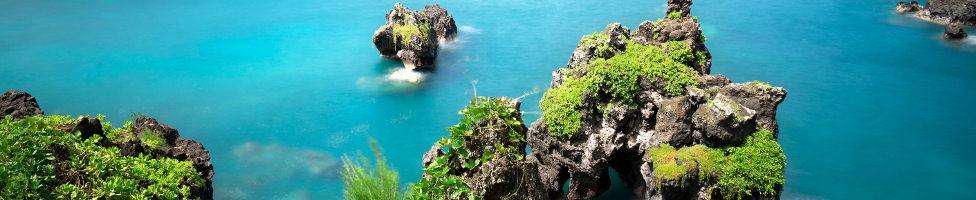 Blick auf Maui