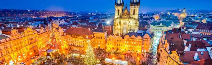 Weihnachtsshopping in Prag