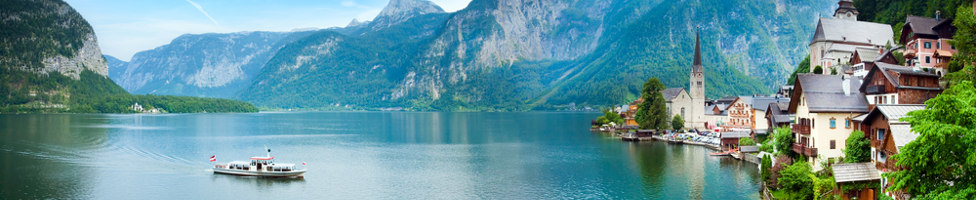 Blick auf den Hallstätter See