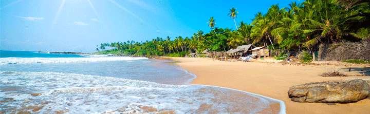 Traumstrände auf Sri Lanka