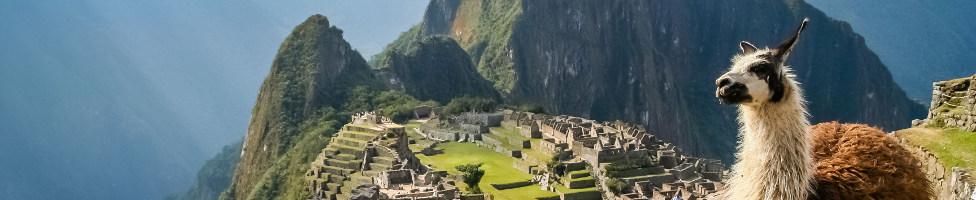 Blick auf die Anden Südamerikas