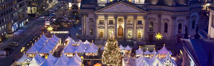 Schöne deutsche Städte zur Weihnachtszeit