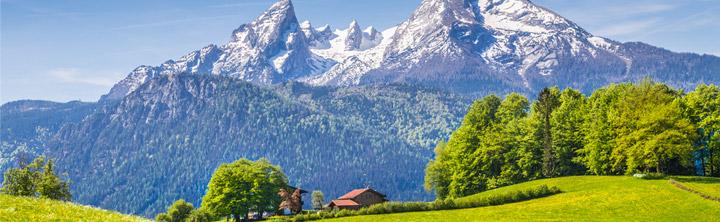Von der Ostsee bis zu den Alpen - Urlaub in Deutschland