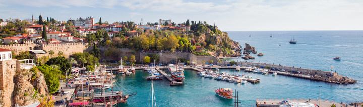 Die beliebte Region Antalya