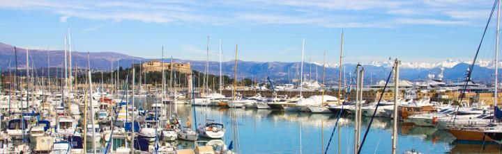 TOP 3 Orte an der Côté d'Azur (inkl. Flug)