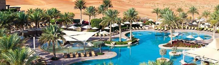 Traumhafter Pool im Bab Al Shams Desert