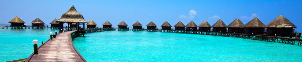 Flug Malediven