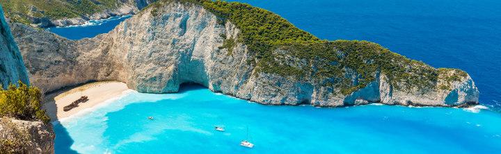 Sonne satt auf den Griechischen Inseln (inkl. Flug)!
