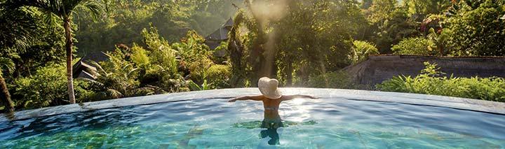 Traumhafter Pool auf Bali