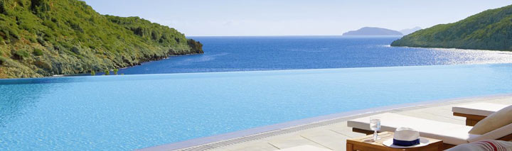 Traumhafter Pool auf Kreta