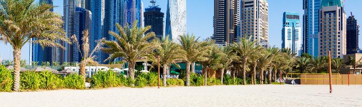 Hotels mit direkter Strandlage in Dubai