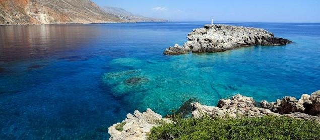Kreta Urlaub - wilde Landschaft