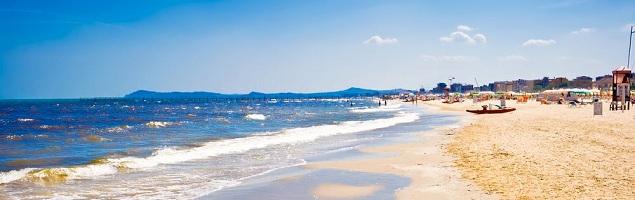 Kurzurlaub in Italien am Strand