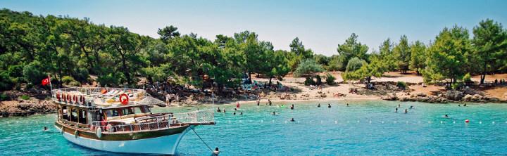 Beliebteste Regionen der Türkischen Riviera