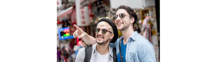 Gay friendly - Städtetrips