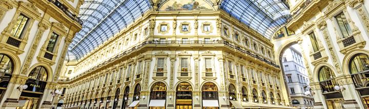 Weihnachtsshopping Mailand