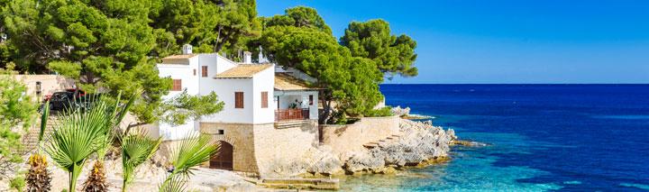 Urlaub Mallorca Mandelblüte Llucmajor