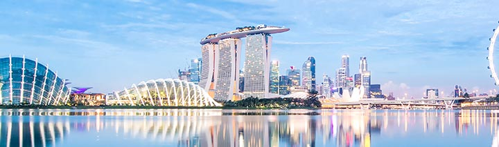 Traumhafter Pool in Singapur